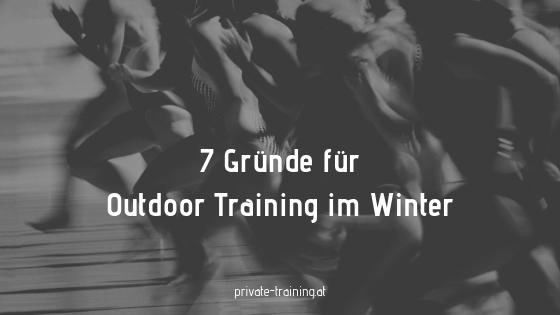 7 Gründe für Outdoor Sport im Winter
