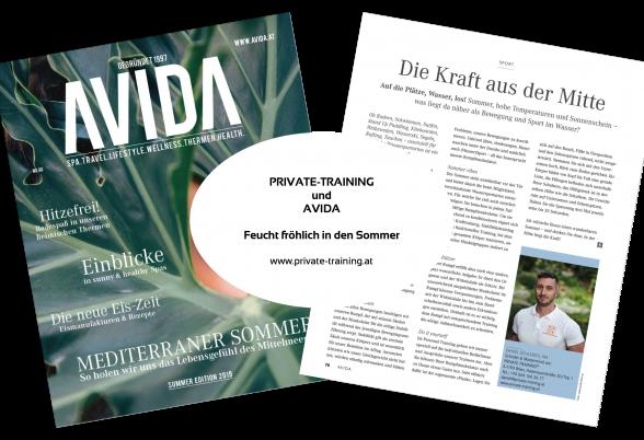 Personal Trainer Daniel Schlerith gibt Expertentipps im AVIDA Magazin