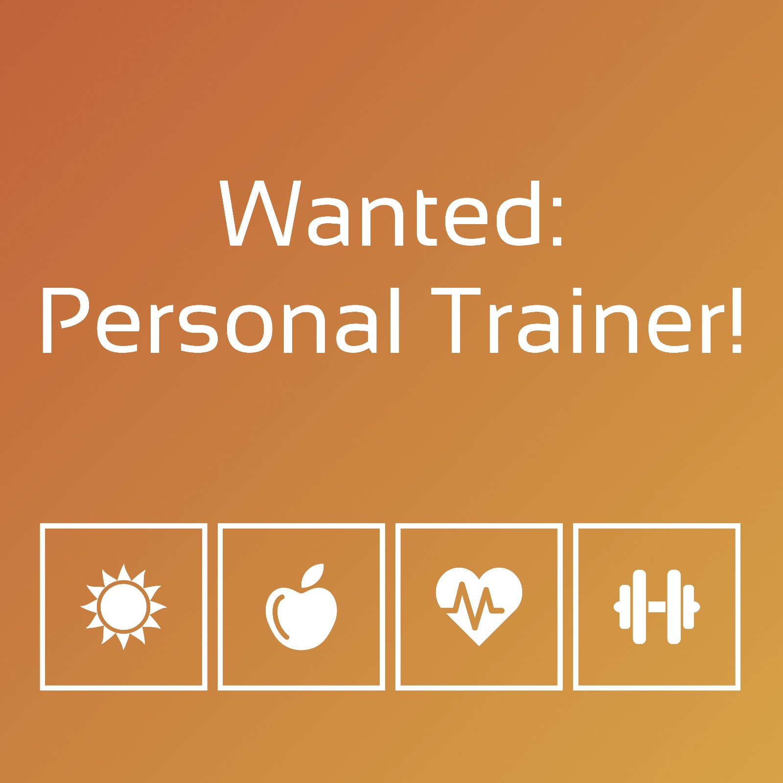 PRIVATE-TRAINING sucht Personal Trainer