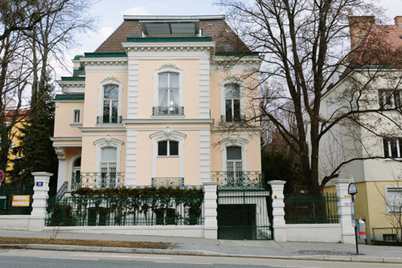 Gebäude des PRIVATE-TRAINING CENTER Wien 19