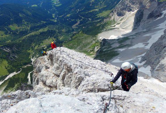 Bild von Klettersteig